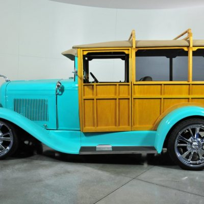 1930 Ford Woody Custom Blue
