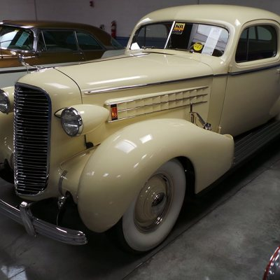 1936 Cadillac Series 80 Coupe