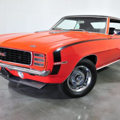 1969 Camaro SS Orange