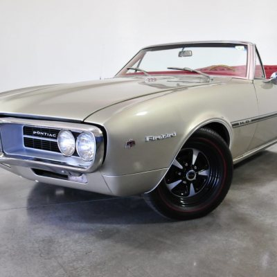 1967 Firebird Convertible Gray