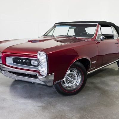 1966 Pontiac GTO Convertible Red
